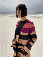 Load image into Gallery viewer, Dries Van Noten Silk Striped Robe