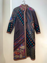 Load image into Gallery viewer, Koos Van Den Akker Patchwork Reversible  Coat
