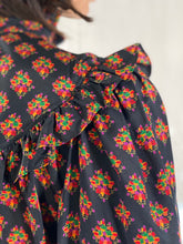 Load image into Gallery viewer, Yves Saint Laurent 1970's Ruffled Silk Dress
