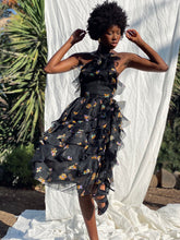 Load image into Gallery viewer, Bill Blass Floral Garden Party Dress