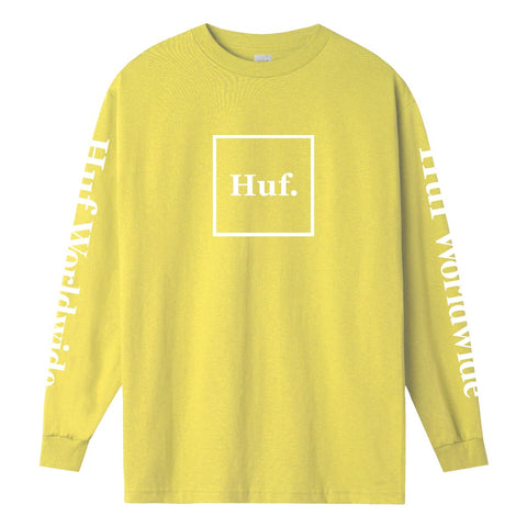 huf essential domestic long sleeve tee