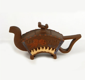 Fan with Fish Teapot