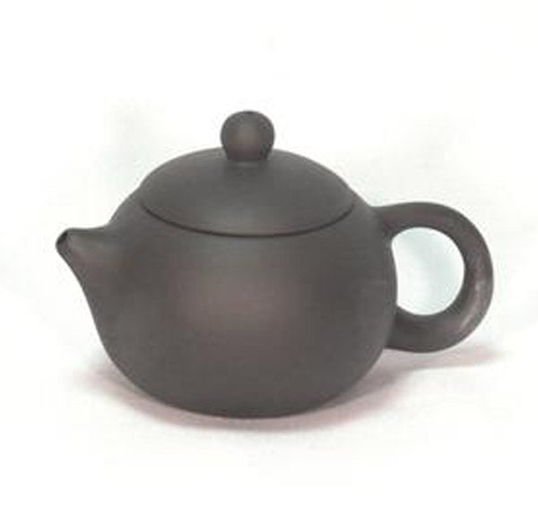 Charcoal Round Teapot