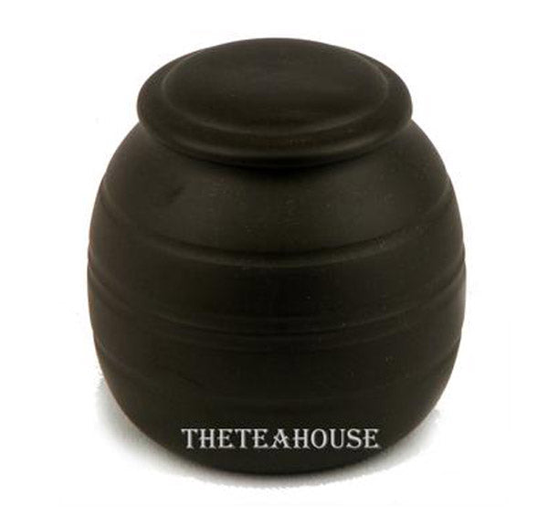 Round Clay Tea Caddy - 6 oz