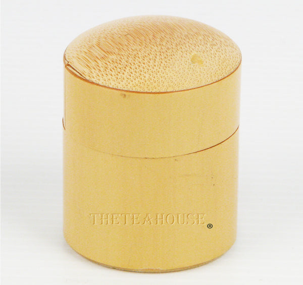 Bamboo Powdered-Tea Container