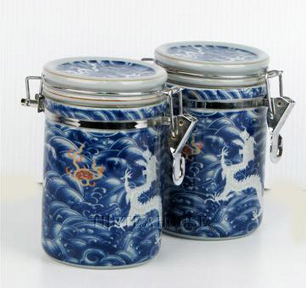 Twin Tea Caddy Gift Set