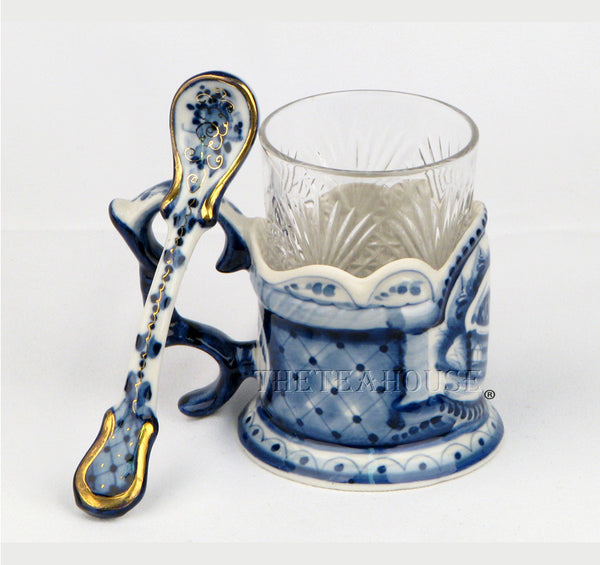 Porcelain Tea Glass Holder<br />**Sorry - Sold Out**