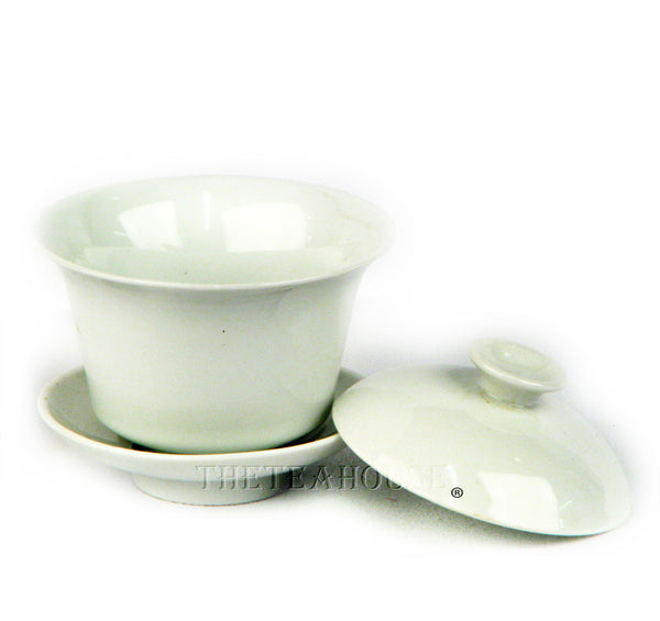 Traditional White Chinese Gaiwan Cup
