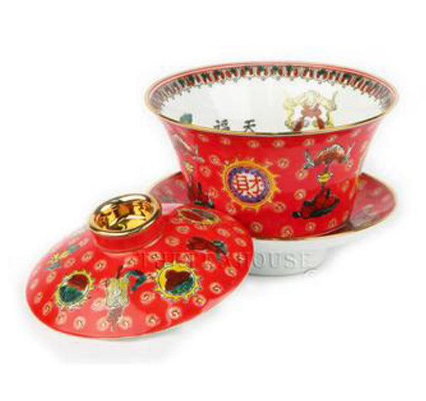 Traditional Gaiwan - Red<br />**Sorry - Sold Out**