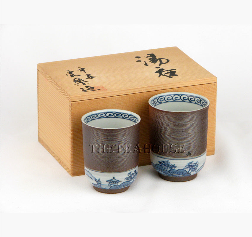 Japanese Tea Mug Set