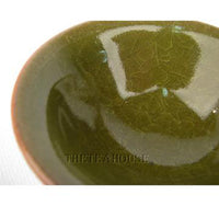 Crystal Glaze Tea Cup - Green
