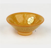 Crystal Glaze Tea Cup - Yellow