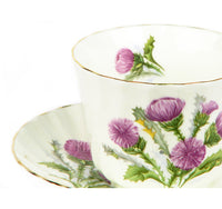 Thistle Cup & Saucer