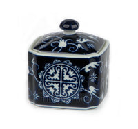 Blue Medallion Tea Caddy - Sorry - Sold Out