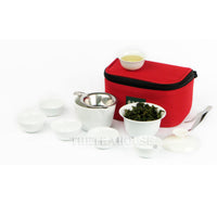 Travel White Gaiwan Set