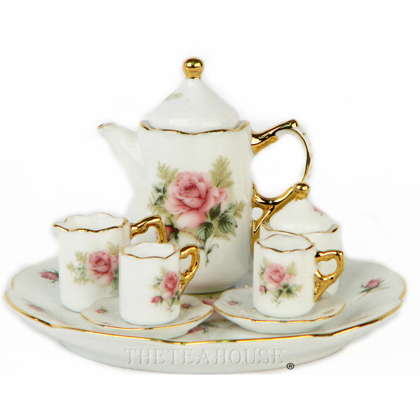 Miniature Porcelain Tea Set - Out of Stock