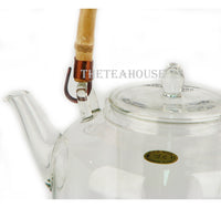 Glass Kettle and Stand