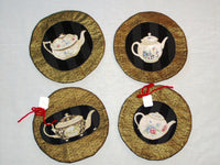 "Round ""Teapots"" Hot Pad"