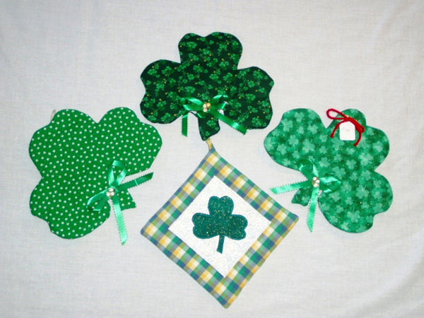 Shamrock Hot Pads