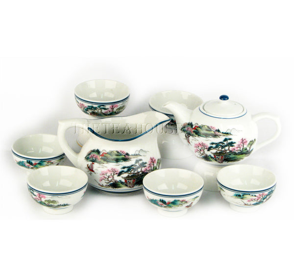 Porcelain Gongfu Tea Ceremony Set