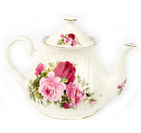 Summer Rose Teapot