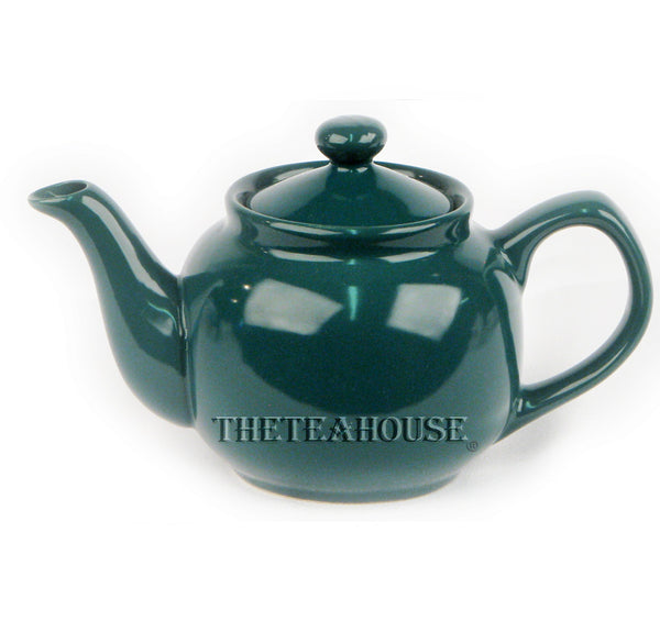 Two Cup Colored Teapot (12 oz) - Green