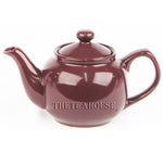 Two Cup Colored Teapot (12 oz) - Plum