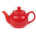 Two Cup Colored Teapot (12 oz) - Red