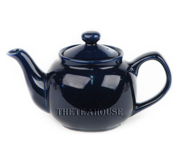 Two Cup Colored Teapot (12 oz) - Royal