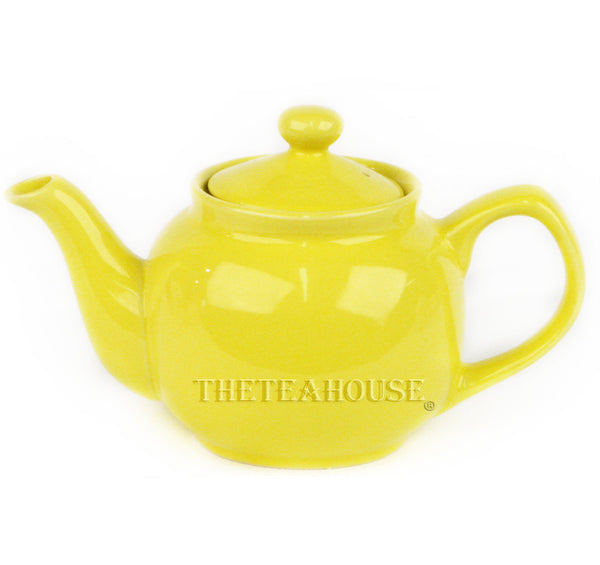 Two Cup Colored Teapot (12 oz) - Yellow