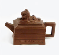 Square Lion Teapot