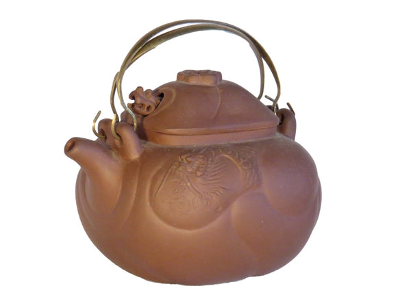 Brass Double Handle Teapot