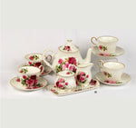 Summer Rose Tea Set
