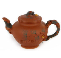 Brown Pine Teapot