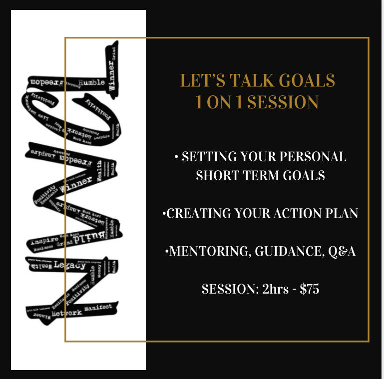 LET'S TALK GOALS
