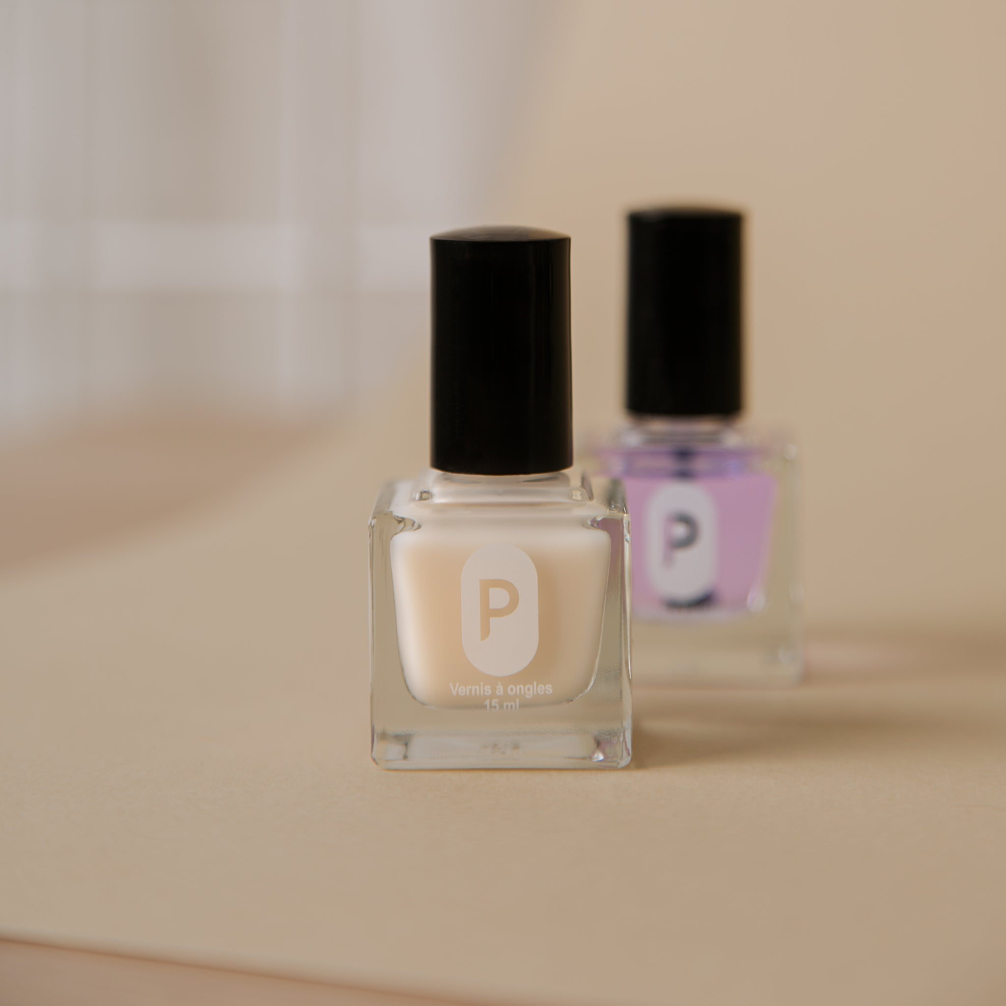 Duo vernis de base et vernis de finition Primerose