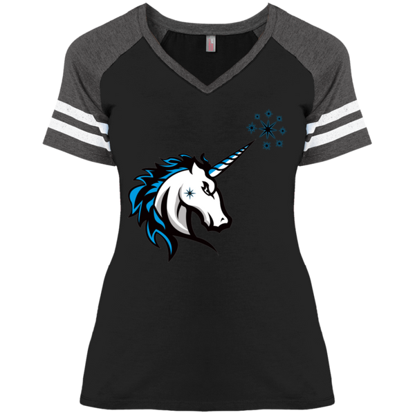 Unistang Ladies' Game V-Neck T-Shirt - Swoozl