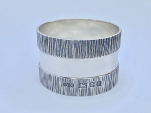 Gerald Benney Solid Silver Napkin Ring