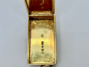 Victorian Vesta Case - Charles Rawlings & William Summers