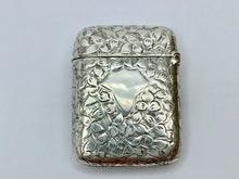 Load image into Gallery viewer, Victorian Silver Vesta Case