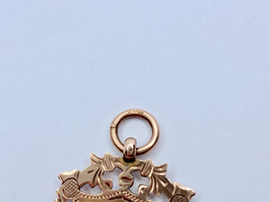 Edwardian 9ct Gold Pendant/Medal