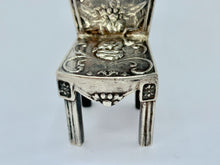 Load image into Gallery viewer, Victorian Silver Dutch Miniature Chair