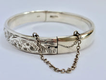 Load image into Gallery viewer, Vintage Silver Bangle - Charles Horner