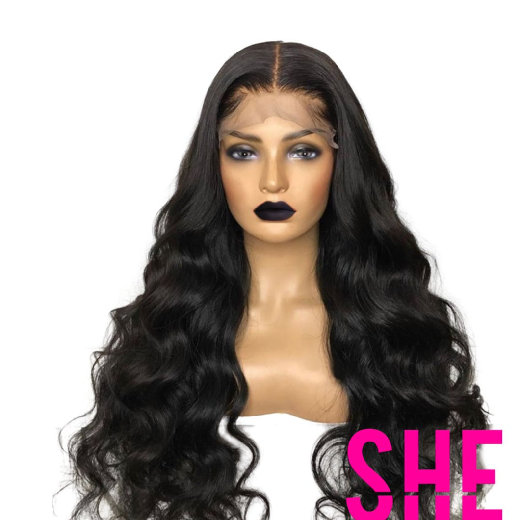 4x4 HD BODYWAVE CLOSURE WIG