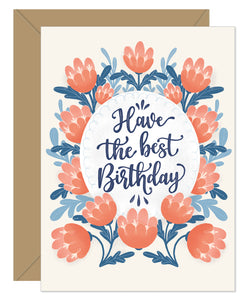 NEW! Have The Best Birthday
