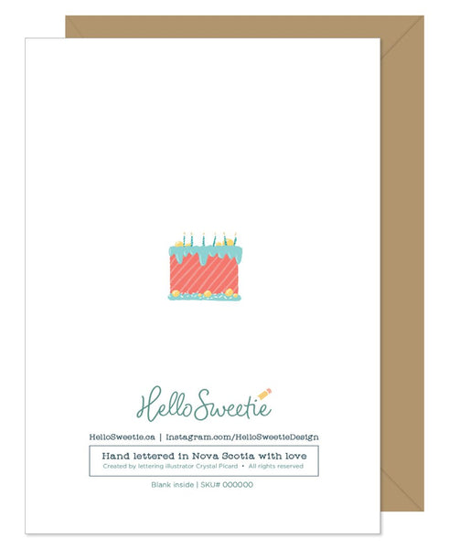 Have a Magical Day Birthday Card by Hello Sweetie Design