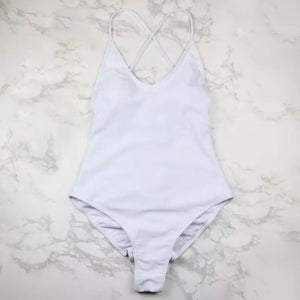 The Alyssa One Piece High-Cut Swimsuit