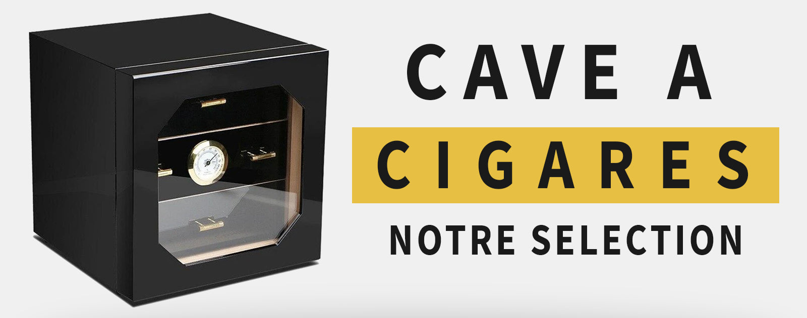 Collection de Caves à Cigares Premium