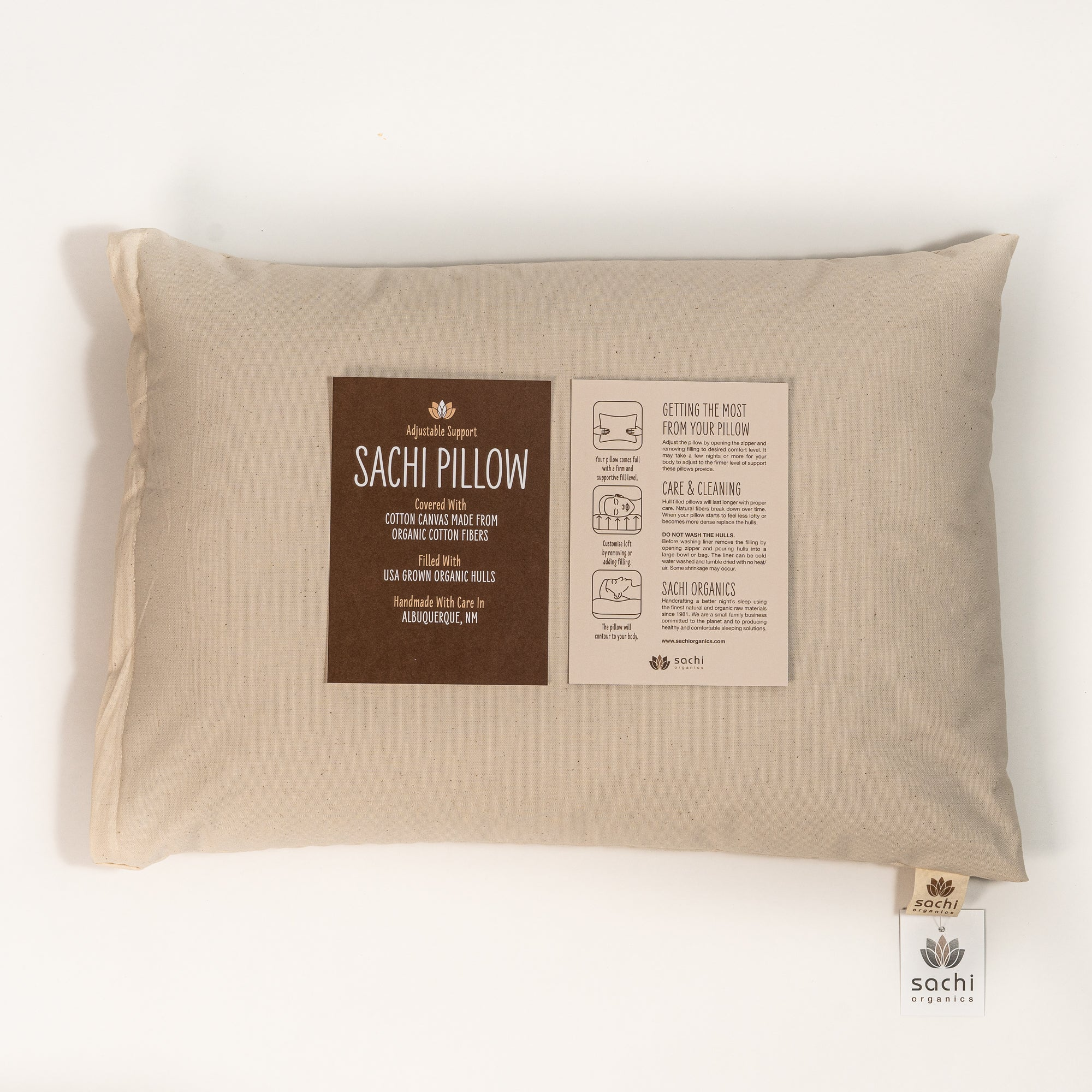 Japanese Size Buckwheat Pillow