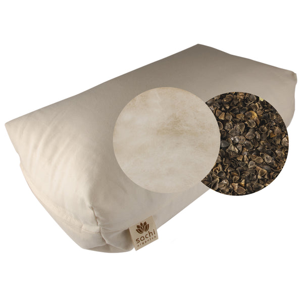 Shambho Pillow Natural Wool Amp Buckwheat Sachi Organics